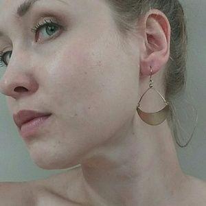 Gold Tone Boho Earrings